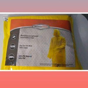 Retail $48 2 Piece Rain Suit Jacket and Pants